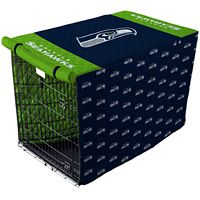 Pegasus Home Seattle Seahawks Large Pet Crate Cover