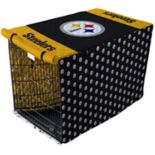 Pegasus Home Pittsburgh Steelers Large Pet Crate Cover