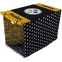 Pegasus Home Pittsburgh Steelers Large Pet Crate Cover