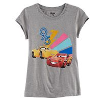 Disney / Pixar's Cars 3 Lightening McQueen & Cruz Ramirez Girls 7-16 Graphic Tee