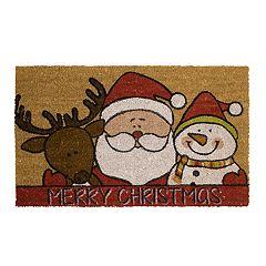 Mohawk® Home Santa's Hug 'Merry Christmas' Coir Doormat - 18' x 30'