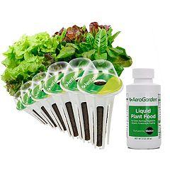 Miracle-Gro AeroGarden Heirloom Salad Greens 6-Pod Seed Kit