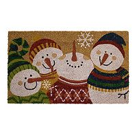 Mohawk® Home Snowman Party Coir Doormat - 18