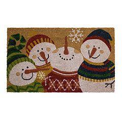 Mohawk® Home Snowman Party Coir Doormat - 18' x 30'