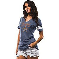 Women's Majestic Houston Astros Spirit Awareness Tee