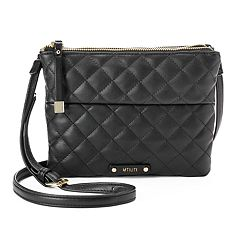 Utiliti by Rosetti Quilted Double Entry Crossbody Bag