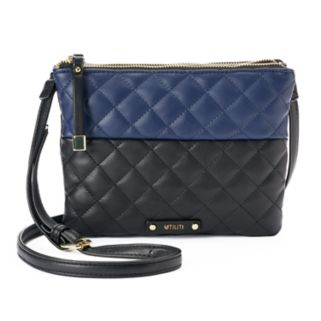 Utiliti Quilted Double Entry Crossbody Bag