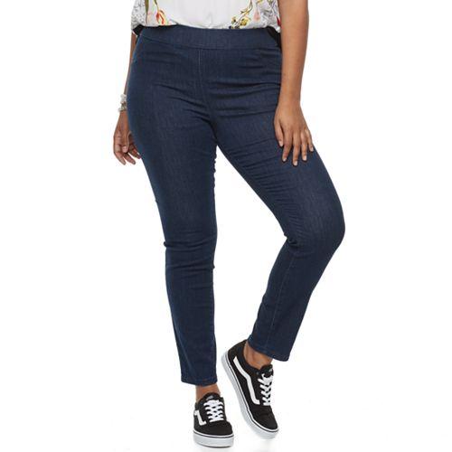 Juniors' Plus Size SO® Pull-On Leggings
