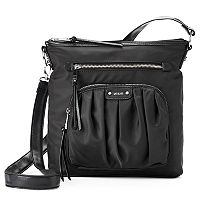 Utiliti Pleated Pocket Convertible Crossbody Bag