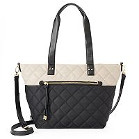 Utiliti Quilted Double Handle Tote