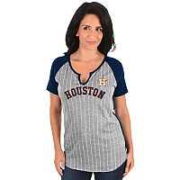 Women's Majestic Houston Astros From the Stretch Tee