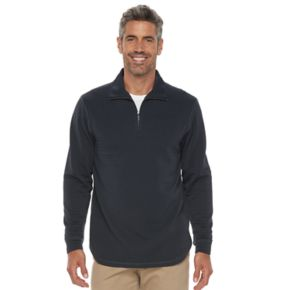Men's Haggar In-Motion Classic-Fit Stretch Quarter-Zip Pullover