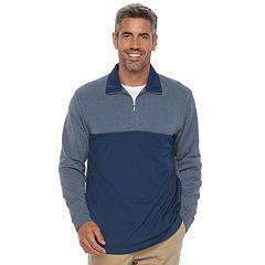 Men's Haggar In-Motion Classic-Fit Stretch Quarter-Zip Pullover
