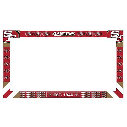 San Francisco 49ers TV Frame