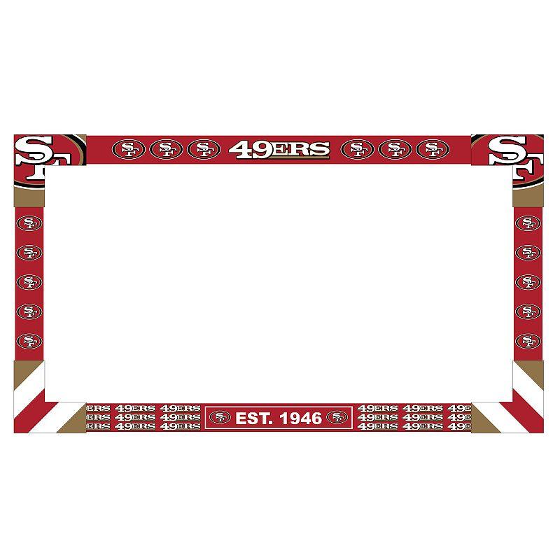 San Francisco 49ers TV Frame. Multicolor