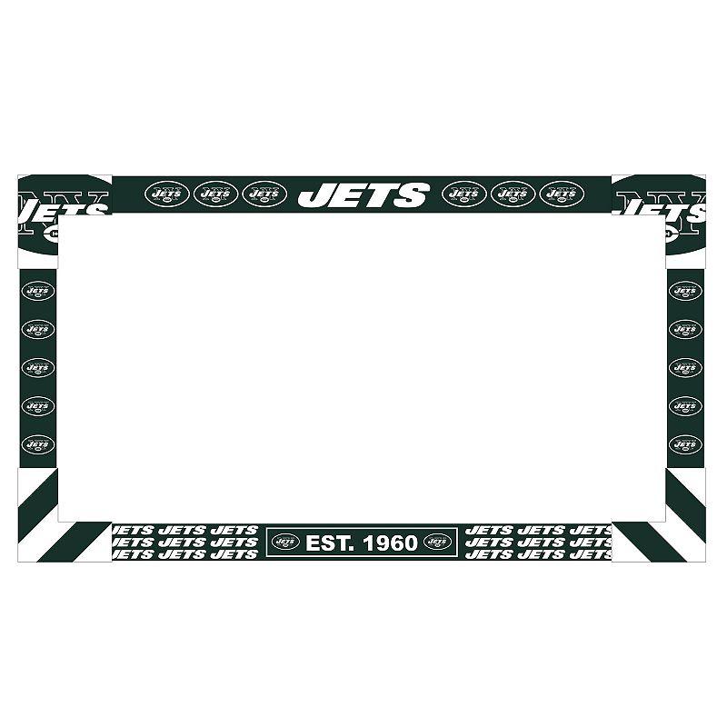 New York Jets TV Frame. Multicolor
