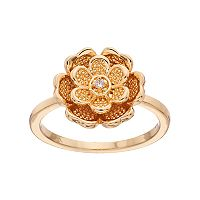 LC Lauren Conrad Tiered Flower Ring