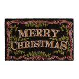 "Mohawk® Home ""Merry Christmas"" Traditions Coir Doormat - 18"" x 30"""