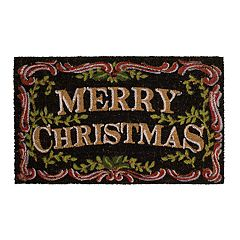 Mohawk® Home 'Merry Christmas' Traditions Coir Doormat - 18' x 30'