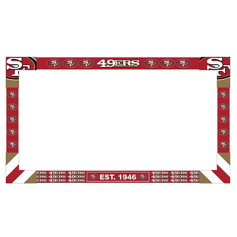 San Francisco 49ers Monitor Frame. Multicolor
