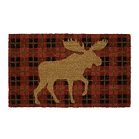Mohawk® Home Moose Check Plaid Coir Doormat - 18