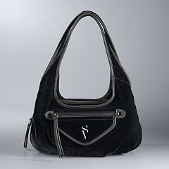 Simply Vera Vera Wang Sidekick Velvet Shoulder Bag