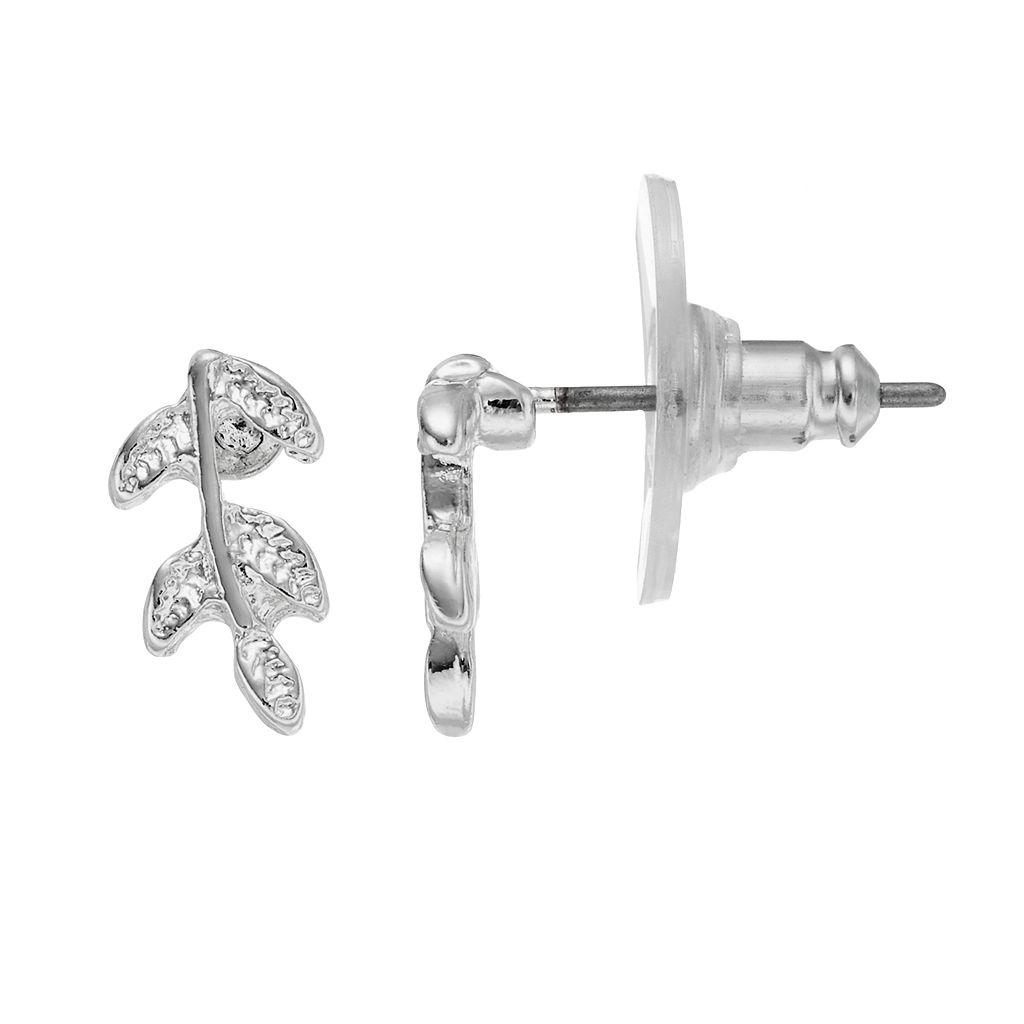 LC Lauren Conrad Branch Nickel Free Drop Earrings