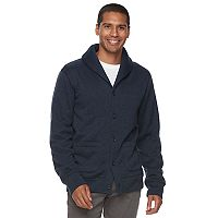 Men's SONOMA Goods for Life™ Classic-Fit Fleece Cardigan Sweater