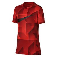 Boys 8-20 Nike Swoosh Base Layer Top