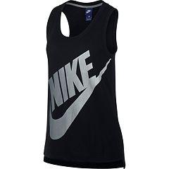 Women's Nike Sportswear Logo Graphic Tank
