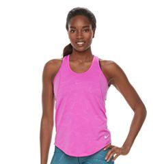 Women's Nike 10K Jacquard Running Tank