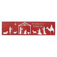 Stratton Home Decor Nativity Scene Wall Decor