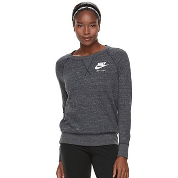 b336e3ecf7d6 Women s Nike Gym Vintage Crew Top