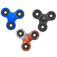 World Tech Toys Sports 3-pk. Fidget Spinners