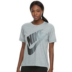 Women's Nike Sportswear Large Logo Graphic Tee
