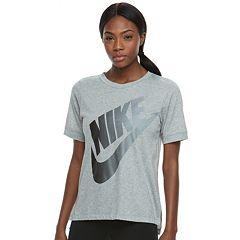 Women's Nike Sportswear Large Logo Graphic Tee