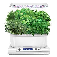 Miracle-Gro AeroGarden White Harvest LED with Gourmet Herb Seed Pod Kit