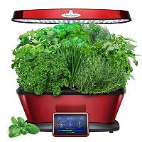 Miracle-Gro AeroGarden Red Bounty Elite LED with Gourmet Herb Seed Pod Kit