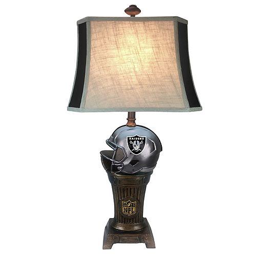 Oakland Raiders Trophy Lamp