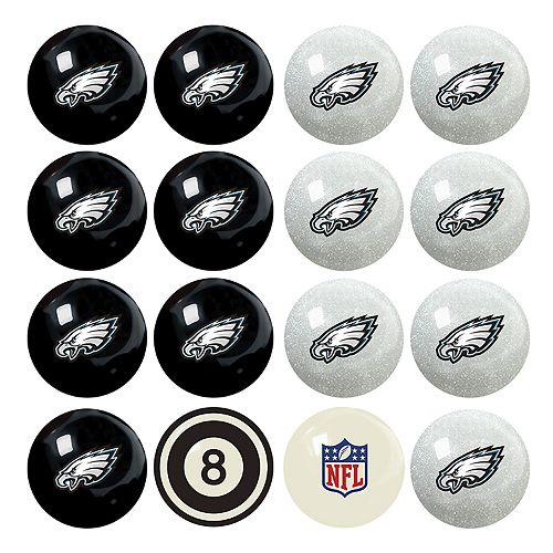 Philadelphia Eagles Billiard Ball Set