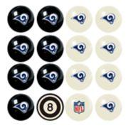 Los Angeles Rams Billiard Ball Set