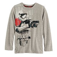 Boys 4-7x Star Wars a Collection for Kohl's Stormtrooper Heathered Graphic Tee