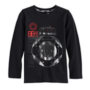Boys 4-7x Star Wars a Collection for Kohl's Star Wars: Episode VIII The Last Jedi BB-9E Metallic Tee