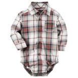 Baby Boy Carter's Plaid Bodysuit