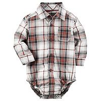 Baby Boy Carter's Plaid Bodysuit