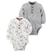 Baby Boy Carter's 2-pk. Henley Bodysuits