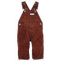 Baby Boy Carter's Corduroy Bib Overalls