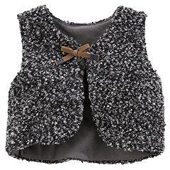 Baby Girl Carter's Boucle Vest