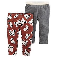 Baby Girl Carter's 2 pkButterfly & Glitter Leggings