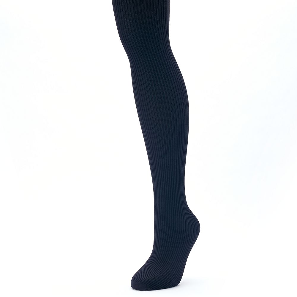 Apt. 9® Ribbed Knit Sweater Tights